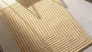 tapis haut de gamme en laine beige tapis 100 laine With tapis laine beige