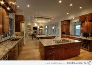 paint ideas for open living room and kitchen 15 big kitchen design ideas decoration for house