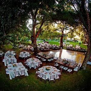 image gallery outdoor reception With outdoor wedding lighting setup