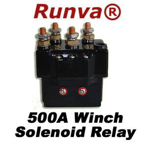 New Runva Electric Winch Solenoid Relay