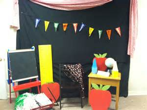 Back to School Booth Ideas