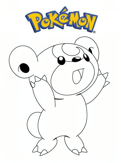 Dibujos para pintar de pokemon: 10 Dibujos de Pokemon