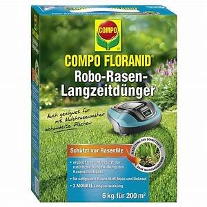 Blaukorn Dünger Für Rasen : compo floranid robo rasen langzeit d nger 6 kg f r 240 m compo ~ Orissabook.com Haus und Dekorationen