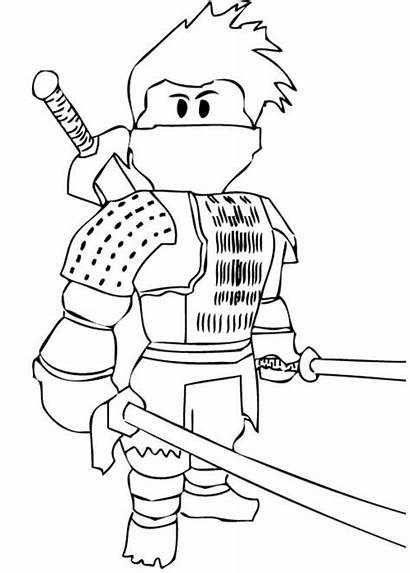 Coloring Ninja Pages Printable Japanese Coloring4free Cool