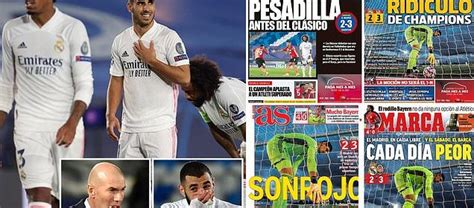 Madrid-based Marca lead damning response to Real's shock ...