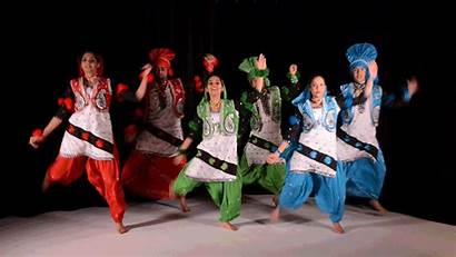 Dance Bhangra Indian American College Traditional Form