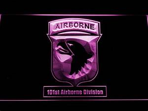 US Army 101st Airborne Division LED Neon Sign | SafeSpecial