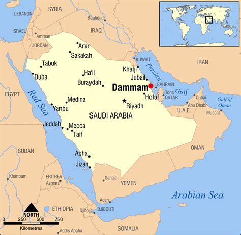 Dammam Saudi Arabia by Archivo Dammam Saudi Arabia Locator Map Png