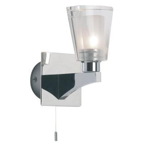 endon enluce single lantern wall light with pull switch