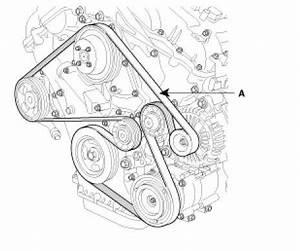 looking for serpintine belt diagram for 2008 kia sorento lx With kia belt diagram