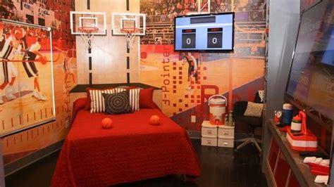 chambre de basket makeover le relookage des chambres