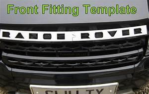 titanium silver bonnet lettering range rover evoque With range rover evoque lettering kit