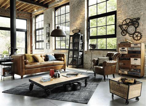 orologio stile industriale maisons du monde cose di casa
