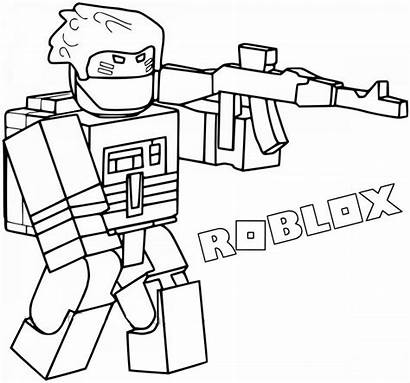 Coloring Roblox Adopt Printable Characters Piggy Sld2