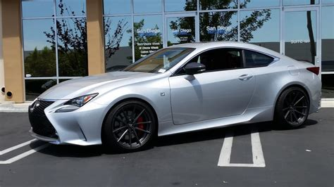 custom lexus rc 350 rc350 post your aftermarket wheel fitment and tires