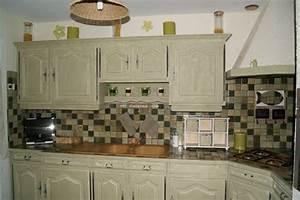 peinture pour meuble cuisine bois With comment peindre des meubles en bois