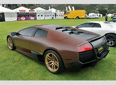 Monterey 2011 Matte Brown Lamborghini Murcielago LP6704