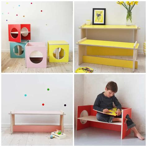 SMALL DESIGN: PLAYFUL FUNCTIONAL KIDS FURNITURE
