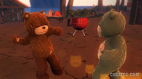 naughty bear review  xbox