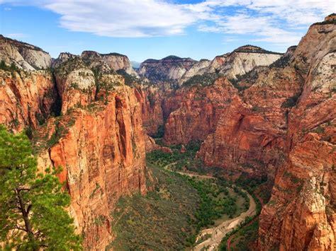 Parque Nacional Zion Wallpaper — Cuadros