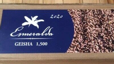 Grown and harvested in the high regions of boquete, panama, this coffee boasts the characteristics of honey and jasmine with a hint of citrus and a floral finish. 5 Pounds Panama Hacienda La Esmeralda GEISHA 1500 Green Coffee Beans 2020 Crop   eBay