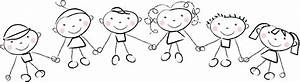 Children Holding Hands - Cliparts.co
