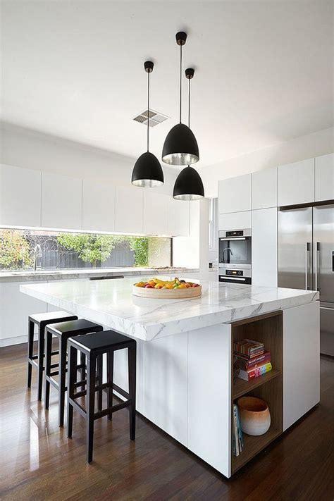 can you put an island in a small kitchen 191 c 243 mo decorar con l 225 mparas colgantes para cocina 9959