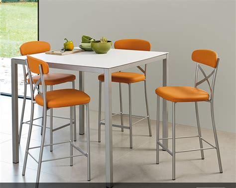 table de bar pour cuisine table et chaise haute pour cuisine