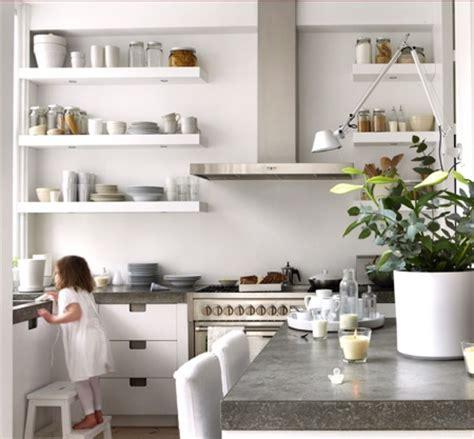 shelves in kitchen ideas natural modern interiors open kitchen shelves ideas