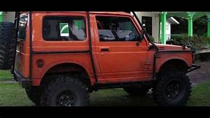 Modifikasi Suzuki Jimny Katana Berkonsep Offroad