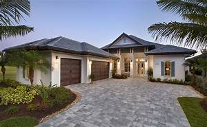 Beach House Plan: Caribbean-West indies Beach Home Floor Plan