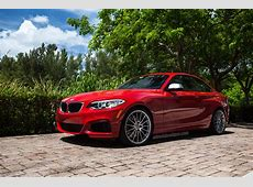 A Melbourne Red BMW 2 Series With HRE Wheels