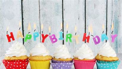Birthday Happy Desktop Cake Wallpapers Backgrounds Colorful