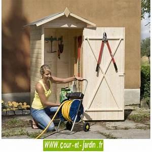 Armoire De Terrasse : armoire jardin satteldach en bois abri 83x85cm une porte ~ Farleysfitness.com Idées de Décoration