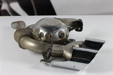auspuff sound generator porsche macan auspuff soundgenerator exhaust links