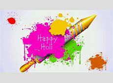 Happy Holi Color Splash HD Wallpaper