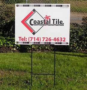 corrugated plastic signs yard lawn signs correx With corrugated plastic yard letters