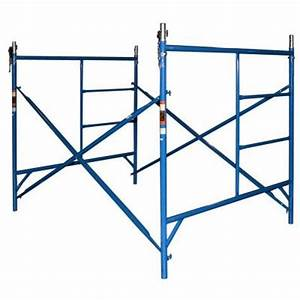 Pro series scaffold frame set standard exterior for Exterior scaffolding