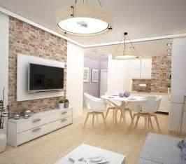 deco mur brique salon id 233 es de d 233 coration et de mobilier pour la conception de la maison