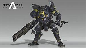 ArtStation - Templar Titan - Titanfall Fan Art, Poji Chow