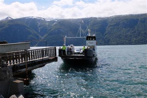 Ferry Boat Uk Norway by вид с воды Picture Of The Urnes Ferry Luster