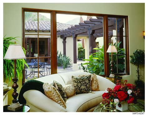 Spanish Colonial Home Style-mediterranean-living Room