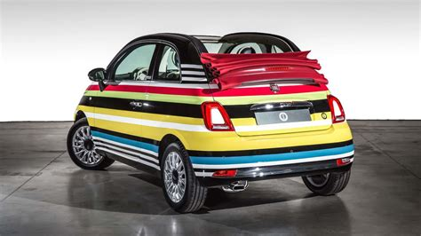 Fiat Garage by Fashion Focused Fiat 500 By Garage Italia Auctioned For