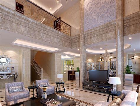 Table Living Room Design, Luxury Villa Interior Design