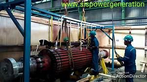 Rewinding Rotor Turbo Generator  1  45mva  3600 Rpm