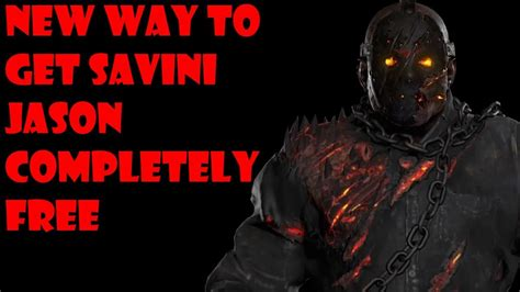 how to get savini jason free still working new method friday the 13th