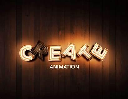 3d Font Neon Psd Classic Version Animation