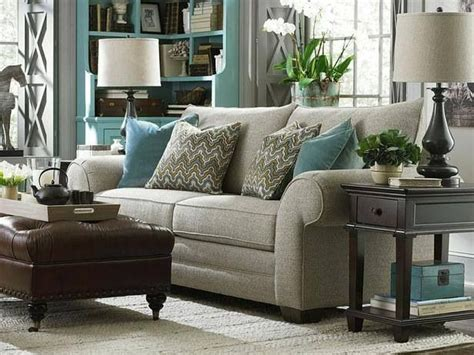 Beige Turquoise Living Room : Beige And Teal Living Room. Hgtv.com