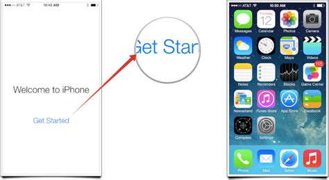 set up new iphone at t how to set up and start using your new iphone 5s or iphone