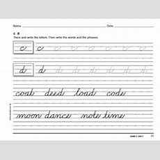 Homeschool Parent Free Cursive Handwriting Book